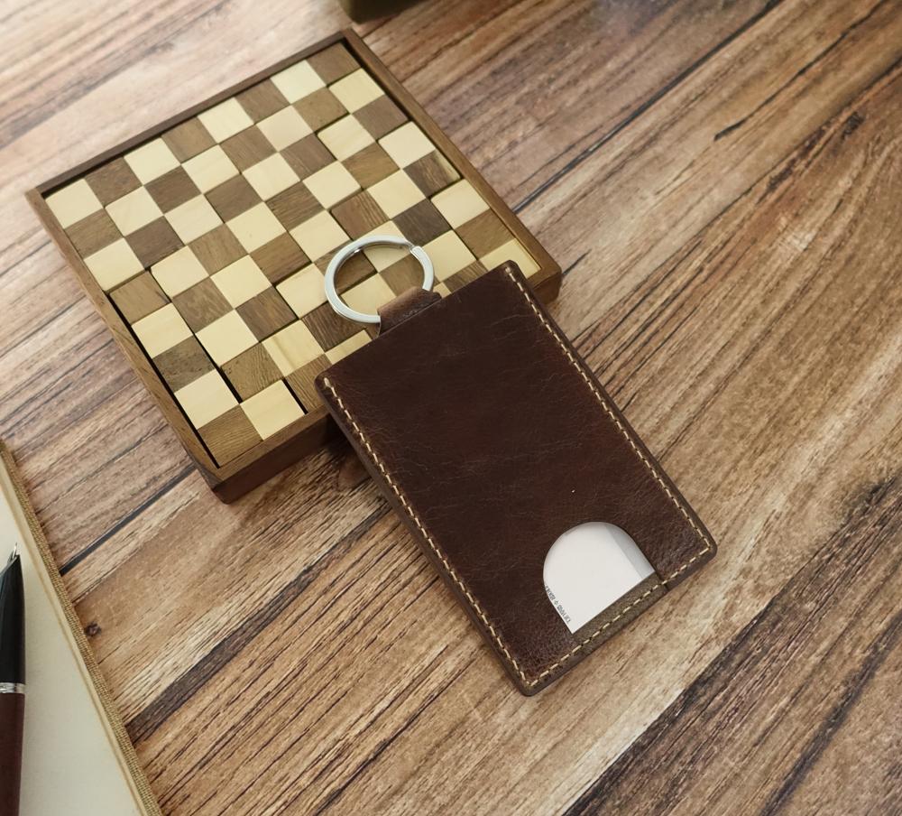 키링달린 카드지갑